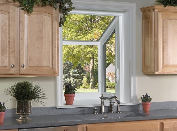 A garden window from this expert home installation service.